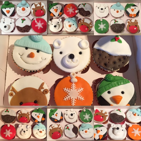Kids Christmas Cupcake Workshop at Flossie Pops Cakery