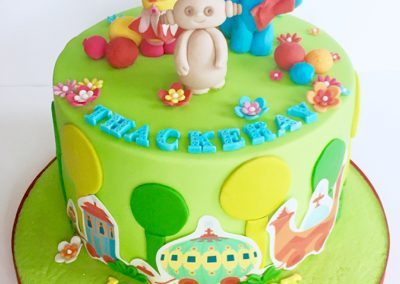 In the Night Garden single tier cake