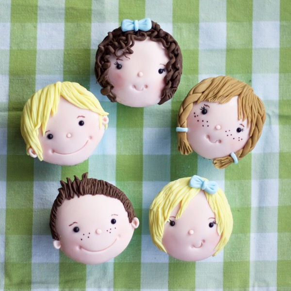 children's cupcakes by Flossie Pops Cakery